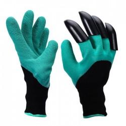 """Γάντια κηπουρικής με """"νύχια"""" για σκάψιμο - Garden Genie Gloves"""