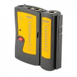 Τέστερ καλωδίων δικτύου και τηλεφώνου RJ11, RJ12 και RJ45 - Jakemy 468AL