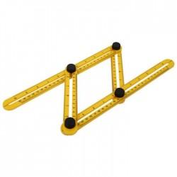 Γωνιακός χάρακας πολλαπλών γωνιών με μηχανισμό