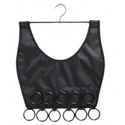 Κρεμαστή θήκη – φόρεμα για φουλάρια - OEM Little Black Dress Scarf Organiser