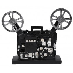 Vintage διακοσμητική κινηματογραφική μηχανή