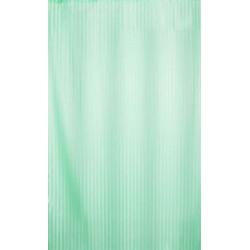 Αδιάβροχη κουρτίνα μπάνιου ριγέ 180x180cm - Πράσινο