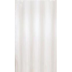 Αδιάβροχη κουρτίνα μπάνιου ριγέ 180x180cm - Μπεζ
