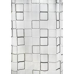 Κουρτίνα μπάνιου PEVA με 12 κρίκους 180 x 180 εκ