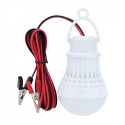 Λάμπα LED με τροφοδοσία από μπαταρία 5W/12V