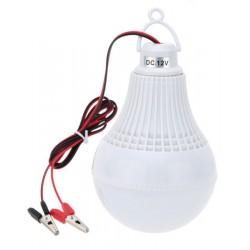 Λάμπα LED με τροφοδοσία από μπαταρία 12W/12V