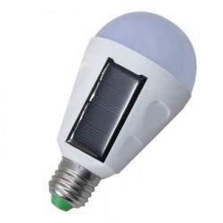 Επαναφορτιζόμενη φορητή ηλιακή λάμπα LED E27/7W έκτακτης ανάγκης