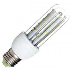 Βιδωτός λαμπτήρας οικονομίας LED 680lm, 3U / 7W / E27 με ψυχρό φως ενεργειακής κλάσης Α