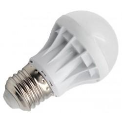 Βιδωτή λάμπα οικονομίας LED E27 / 3W / 240 lm με ψυχρό φως