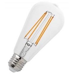 Βιδωτή ρετρό λάμπα ST64 Edison LED E27/4W με θερμό φως