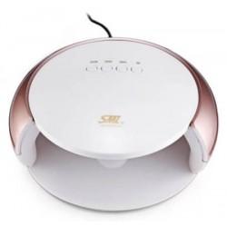 Φουρνάκι Νυχιών SML S3 UV/LED 48watt Άσπρο-Ροζ