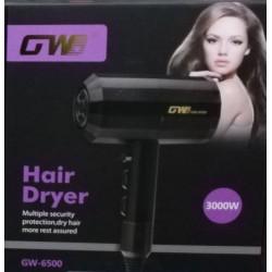 παγγελματικό Πιστολάκι Μαλλιών με Φυσούνα 3000 WATT Gemei GW-6500