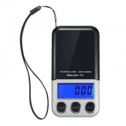 Μίνι Ψηφιακή ζυγαριά χρυσοχοΐας ακριβείας τσέπης 0,1-600gr Porsche Design Digital Scale 100