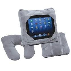 Gogo Pillow Μαξιλάρι ταξιδίου 3 σε 1 ώμου, θήκη tablet