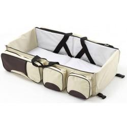 Τσάντα - κρεβατάκι, πορτ μπεμπέ 2 σε 1
