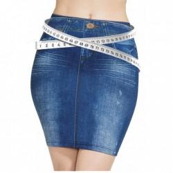 Φούστα Τζιν ελαστική χωρίς κουμπιά Trim 'n' Slim Skirt