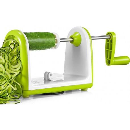 Χειροκίνητος πολυκόφτης λαχανικών σπιράλ & τρίφτης - Speedy Spiralizer