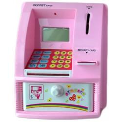 Κουμπαράς ATM ροζ