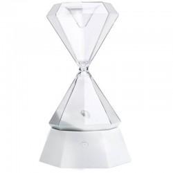 Επαναφορτιζόμενη κλεψύδρα διαμάντι με φωτισμό Led