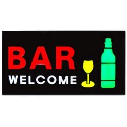 Φωτεινή επιγραφή LED Bar Welcome