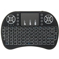 Mίνι ασύρματο πληκτρολόγιο με touchpad