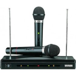 Συσκευή για καραόκε με δύο ασύρματα μικρόφωνα C-05