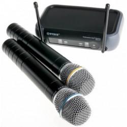 Συσκευή karaoke με δύο ασύρματα μικρόφωνα WG-X51