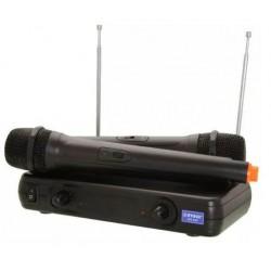 Σύστημα karaoke με δύο ασύρματα μικρόφωνα WG-005