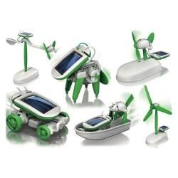 Εκπαιδευτικό ηλιακό ρομπότ κιτ