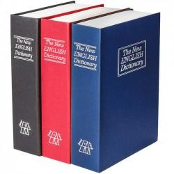 Βιβλίο-χρηματοκιβώτιο ασφαλείας 24x15,5x5,5 με κλειδαριά