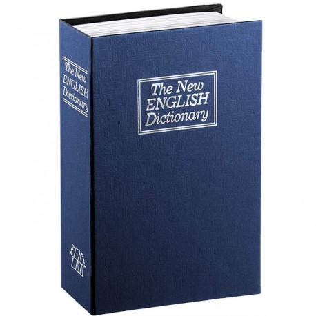 Βιβλίο-χρηματοκιβώτιο ασφαλείας 18x11,5x5,5 με κλειδαριά