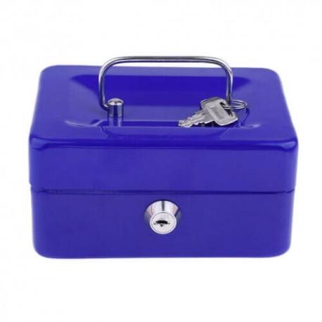 Μεταλλικό cash box ασφαλείας για μεταφορά αποθήκευση χρημάτων