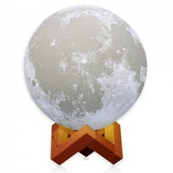 3D Ασύρματη λάμπα σε σχήμα σελήνης - Moon light