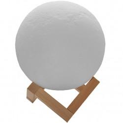 3D Ασύρματη λάμπα σε σχήμα σελήνης - 3D Moon Lamp