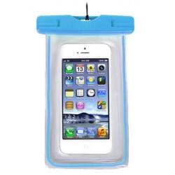Αδιάβροχη θήκη για κινητά - Μπλε