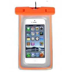 Αδιάβροχη θήκη για κινητά - Πορτοκαλί