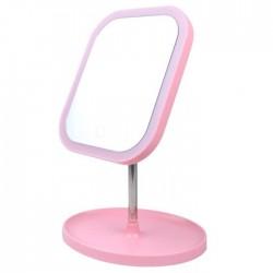 Πτυσσόμενος καθρέφτης μακιγιάζ με LED φωτισμό
