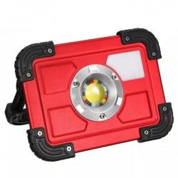 Προβολέας 30W επαναφορτιζόμενος COB Bright working light LED