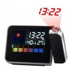 Ρολόι με προτζέκτορα, μετεωρολογικό σταθμό και έγχρωμη οθόνη 8190