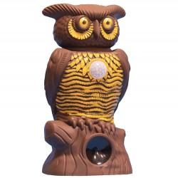 Συσκευή απώθησης τρωκτικών και ζώων με ήχητικο και φωτιστικό συναγερμό με αισθητήρα κίνησης – Owl Alert