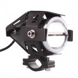 Προβολέας μοτοσυκλέτας Cree LED U7 με φωτιζόμενη στεφάνη 125W