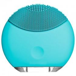 Βουρτσάκι σιλικόνης για καθαρισμό προσώπου με επιδερμικούς ηχητικούς παλμούς Μπλε