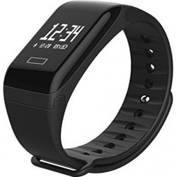 Smart Bracelet F1 Μαύρο