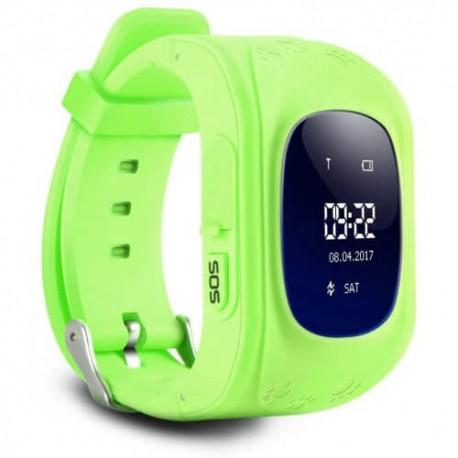 Παιδικό ρολόι με GPS, activity tracker Q50 Πράσινο