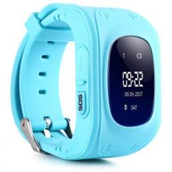 Παιδικό ρολόι με GPS, activity tracker Q50 Μπλε