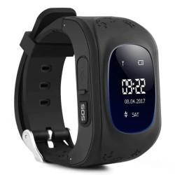 Παιδικό ρολόι με GPS, activity tracker Q50 Μαύρο