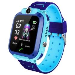 Ρολόι Smartwatch, GPS Q12 - Μπλε