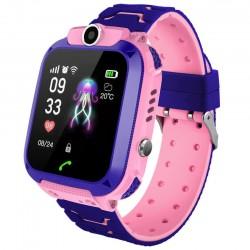 Ρολόι Smartwatch Q12 - Μωβ