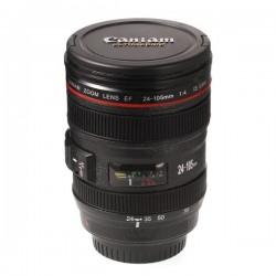 Κούπα φακός φωτογραφικής μηχανής με ανοξείδωτο εσωτερικό και καπάκι - Caniam EF 24-105mm