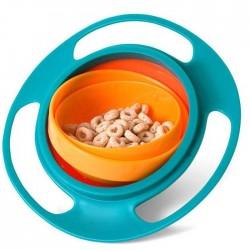 Μπολ για παιδιά GYRO BOWL μπλε - πορτοκαλί